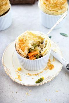 Mini Vegetable Pot Pies