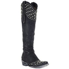 Knee high and studded?!? Women's Old Gringo Boots Leigh Anne Vesuvio Boots #L2601-1