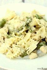Delicious Chicken Asparagus Pasta