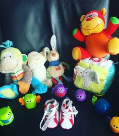 A nice old lady from the neighbourhood came to drop off these wonderful children's toys and cute baby shoes to send to the orphans.  Calling out to our Carry On 4 Babies people's network to find a new home in Southern Africa for these toys and baby shoes! South Africans in the Netherlands