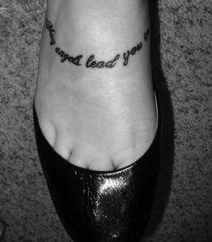 "Jimmy Eat World ""Hear You Me"" Tattoo."