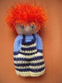 Finger Knitting, Loom Knitting, Free Knitting, Knitted Dolls, Crochet Toys, Knit Crochet, Baby Sweater Knitting Pattern, Knitting Patterns, Knitting Projects