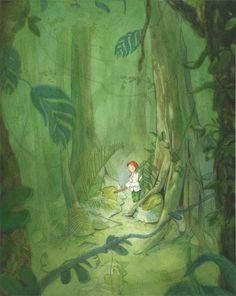 Quentin Gréban - Illustrateur - Editions Mijade. Peter Pan