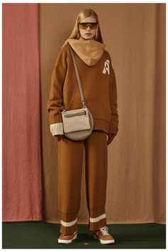 Fall/Winter 2016 capsule collecion lookook #ader #adererror #FW16 #collection #lookbook #design #fashion #styling #space #spaceship #camel #color Korean Clothing Brands, Fall Winter 2016, Ader Error, Korean Outfits, Knit Crochet, Normcore, Poses, Portrait, Knitting
