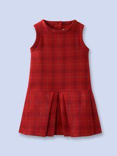 Gladys Dress, by Jacadi Cute Little Girl Dresses, Little Girl Outfits, Toddler Girl Dresses, Kids Outfits, Girls Dresses, Baby Girl Fashion, Kids Fashion, Frock Patterns, Moda Kids