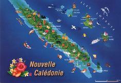 1/5 - Noumea, New Calendonia. 4/5 - Lifou, Loyalty Island. 5/5 - Mare, New…