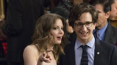 Gillian Jacobs and Paul Rust in Love.