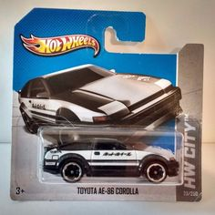 2013 Hot Wheels AE-86 Corolla - HW City - Int'l Short Card - Initial D, Fujiwara | Toys & Hobbies, Diecast & Toy Vehicles, Cars, Trucks & Vans | eBay!