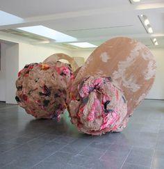 Phyllida Barlow, untitled:double act, 2010 on ArtStack #phyllida-barlow #art