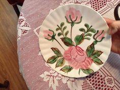 Blue Ridge Pottery--Paper Roses