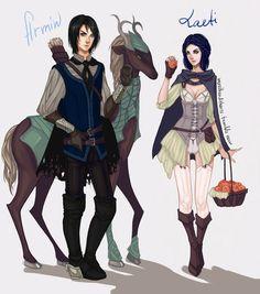 Armin and Laeti: Eldarya by rgbvscb