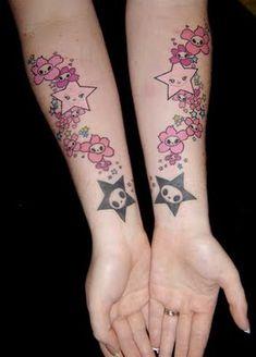 kawaii tattoos - Google Search