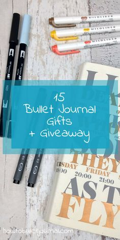 It's already the end of November and December is around the corner. It's almost the month of Christmas and giving presents. I have made a list with gifts under 10$ for the Bullet Journal. These presents are great to give to your beloved ones, or just to threat yourself this Christmas!