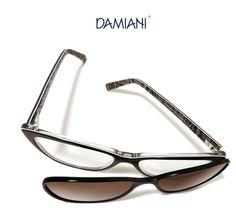 Damiani Occhiali è conosciuta in tutt'Italia per i suoi modelli MAS. Montature da vista che, con solo click diventano sole, grazie alla mascherina in coordinato.