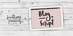 Blog Script - Webfont & Desktop font « MyFonts