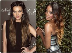 ombre hair black to blonde - Google Search