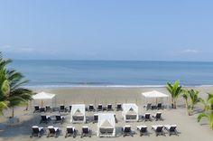 Ocean Club, Outdoor Venues, Puerto Vallarta, Lounge Areas, Cabana, Swimming Pools, Dolores Park, Mexico, Table Decorations