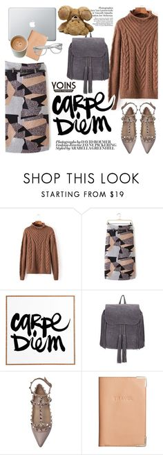 """""""carpe diem"""" by punnky ❤ liked on Polyvore featuring Valentino, H&M and Retrò"""