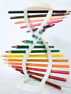 printer design printer projects printer diy Pottery with Yashar Pottery with Yashar Printed DNA Helix Pencil Holder