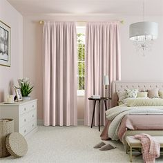 Fine Velvet Blush Curtains%20from%20Curtains%202go