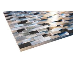Sleander lady 3 Dimensional groutless seduction aluminium kitchen & bathroom glass mosaic tile