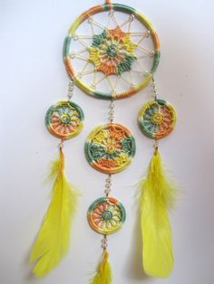 Dreamcatcher  MH02 by Makihouse on Etsy,