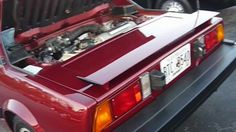 The replacement for the tiny but beautiful Fiat 850 Spider began production in Spurred by the entry of the mid engine VW/Porsche Fiat took the eng. Fiat 850, Porsche 914, Concept Cars, Engineering, Image, Countries, Autos, Technology