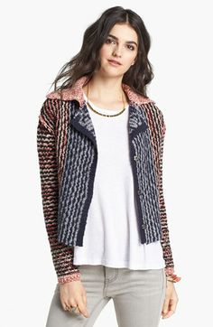 Free People Envelope Back Sweater Jacket available at #Nordstrom