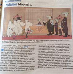 Les Moomins sur la Riviera - LE PARISIEN