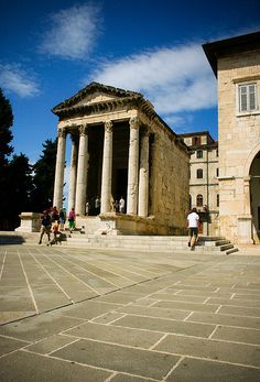 Augustus Temple - Pula, Croatia