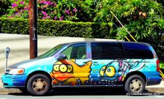 "Comfort Spiral: Mural Fish Van- ""Two Cars in Every Garage  and Three Eyes on Every Fish""                  The Simpsons'                                        Second season,  Fourth episode"