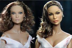 Jennifer Lopez repaint - Noel Cruz Dolls - Bing Images