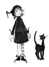 """Dorrie the Witch"" books by Patricia Coombs.  My favourite series from childhood.  They need to be made into movies."