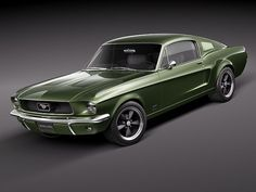 Mustang Green 67