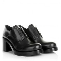 Miu Miu Boots & Booties – Calzature Donna Vitello Deco Nero – in schwarz – Boots & Booties für Damen