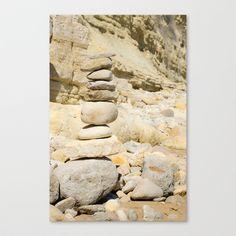 Rock Stretched Canvas by Sébastien BOUVIER - $85.00 Rock Art, Art Prints, Stretched Canvas, Mini, Art Impressions, Stone Art, Art Print, Pebble Art