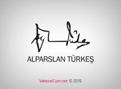 Vektörel Çizim | Alparslan Türkeş İmzası