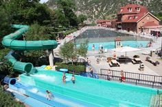 Water park and largest hot springs pool, Colorado So much fun! Glenwood Springs Colorado. Awesome travel ideas
