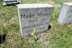 Mary <i>Monks</i> Cunliff