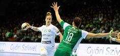 Komoly pofon - Női kézilabda-csapatunk tizenegy gólos vereséget szenvedett a Győr otthonában. Sports, Handball, Hs Sports, Sport