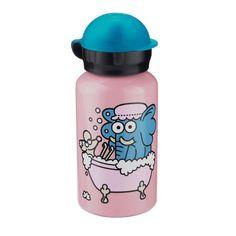 Kukuxumusu aluminium drinkfles Olifant van het merk Laken. Leuk en handig voor op school of onderweg.