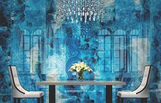If the thought of decorating with minerals and gemstones evokes the scene fromSupermanin which Marlon Brando as Jor-El, re-arranges the universe from his crystal and kryptonite digs, fear not. The near future is more discerning. High-end designer, Beverly Hills based Kelly Wearstler, has taken i…