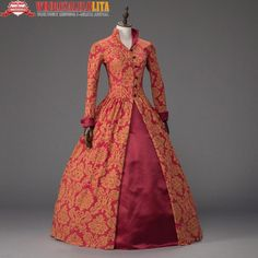 Queen Elizabeth I / Tudor Gothic Jacquard Christmas Dress Game of Thrones Gown Theater Clothing. Yesterday's price: US $178.00 (154.93 EUR). Today's price: US $90.78 (78.84 EUR). Discount: 49%.