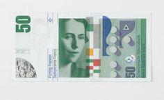 Rosmarie Tissi Fünfzig Franken Corporate Identity, Designer, Vii, Design Inspiration, Graphic Design, Graphics, Image, Commercial Art, Catchphrase