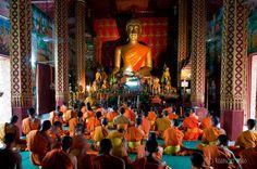 Scenes and Sounds of Luang Prabang, Laos.