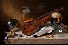 Musical Vanitas - after Pieter Claesz | Flickr - Photo Sharing!