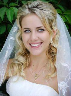 Hochzeitsfrisuren mit curlies