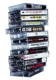 Hip-hop Cassette Tapes.