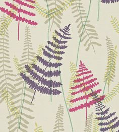 Athyrium Wallpaper by Scion | Jane Clayton