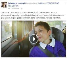telethon video primo giorno di scuola